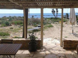 Maison face a la mer, vue imprenable, confort et tranquilite