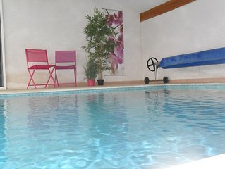 Studio with private heated pool and 2