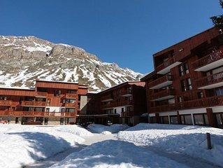 Appartement 2 pièces + mezzanine pour 6 à 7 personnes