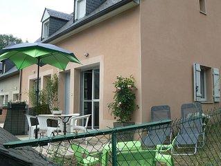 Pretty terraced house