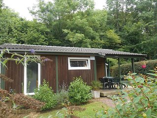 chalet any comfort in residential park with pool