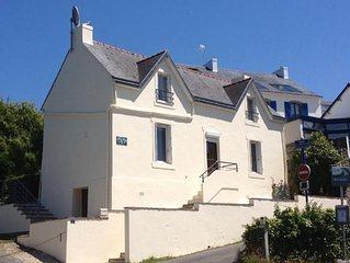 maison 2/4 pers port de Doëlan Clohars-Carnoet
