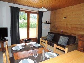 Appartement  4 personnes avec wifi, à 400 m des pistes du Grand Bornand