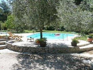 Appartement 31m2 + terrasse dans propriete en campagne avec piscine route du vin