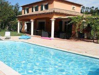 Charmante villa en Provence verte à Rocbaron