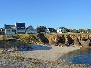 Charmante maison de bord de mer, tout confort, a 2 pas plage et de la cote