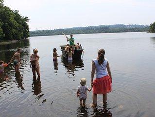 Charmante longère proche lac de Guerlédan