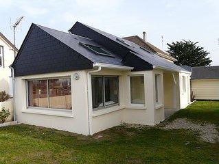 Villa Coudeville/plage (St-Martin-de-Bréhal), 2 chambres, à 30 m. de la plage