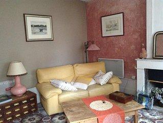 Maison du 17 eme rustique et boheme  au ceour du village de Fontevraud l'Abbaye