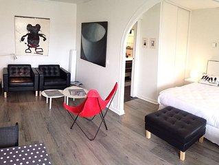 Biarritz, beach 50m, town center, 40m2, WiFi, 160
