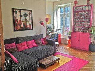 Perfect flat for Family in Montmartre !