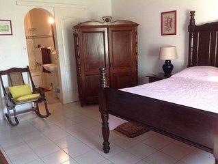 Belle chambre avec salle de bain au François