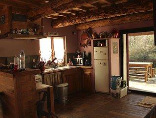maison dans un cadre magnifique au calme pour les amoureux de la nature