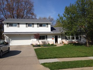 Cozy Multi Bedroom Home with tons of living space and a large backyard.