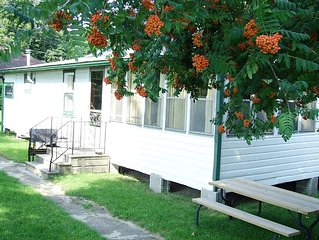ADULTS ONLY Comfortable Rustic Cabin & BOAT DOCK overlooks World Biosphere Park