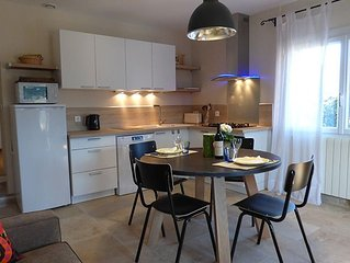 Charming 1 bedroom apartment in an 18th C Provencal farmhouse near Gordes