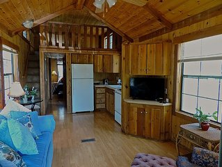 Modern wooden cabin on 30 acre mini-resort/ ranch (See #67819) close to Boerne