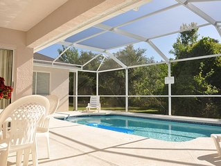 Amazingly private & safe! 4/2 Pool Home with Everything you want 2miles2 Disney!