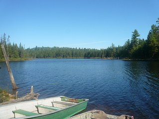 Northern Ontario Rustic & Remote Outpost Camp / Cabin.  Get Away From It All !!
