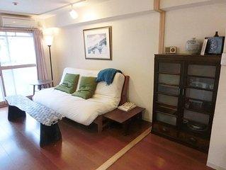 Buddhist -Friendly Full Amenity Furnished Kyoto Apartment, Own Entrance