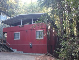 A Quiet Retreat In The Woods Close To The Russian River