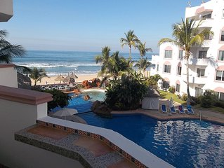 Spectacular 2br/2ba Oceanfront Condo In Gated Community On Fantastic Beach! 304a