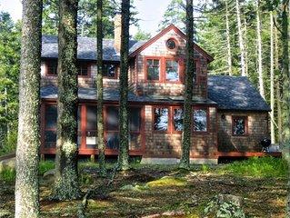 Stylish Home on a Lovely Maine Coastal Cove