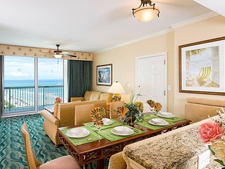 BeachFront 2BR/2BA, Jacuzzi, Pool. Hot Tub, Lazy River, balcony, Westgate Resort