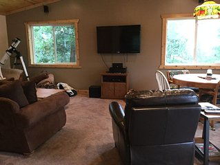 Wisconsin Dells Area Cabin with breathtaking views! Located in Lyndon Station