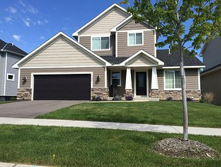 BRAND NEW HOME FOR RYDER CUP (≈2 MILES FROM HAZELTINE NATIONAL)