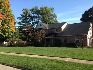 Relax with friends and family close to ND campus on football weekends