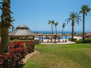 Quiet and SECURE 2 bedroom Condo adjacent to the fairway at Cabo Real Great View