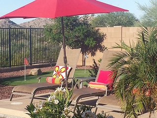 Estrella Mountain Vacation Home with heated Pool