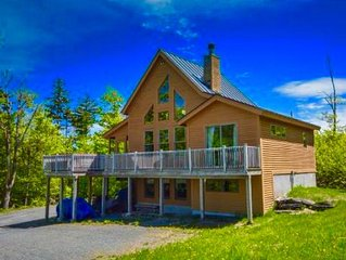 Camp Peace & Plenty North - a contemporary cabin in the woods w/ majestic views!