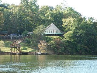 Lake Front Property On Quiet Cove At The Entrance To Peak Creek Claytor Lake Va.