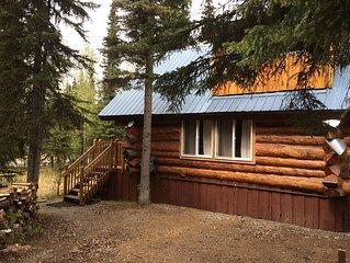 Log Cabin W Bedroom Loft, Seperate private Bath House W Sauna, Boat House