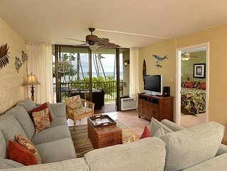 UP TO 25% OFF!! Two Bedroom Ocean View Condo in Maalaea Close to Aquarium