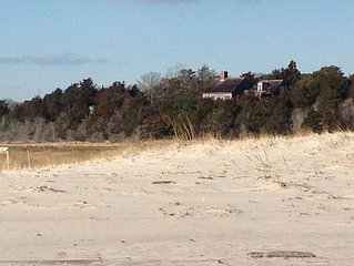 Your perch to the Cape's best ocean view with private Nauset access for 8!
