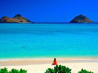 Kailua Beach Aloha Cottage 10 minute walk to Famous Kailua Beach!