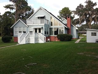 St John's River Waterfront Home