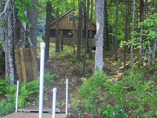 Relaxing Lakefront Cabin With Private Dock On Moose Pond.  Wifi And Cable Tv.