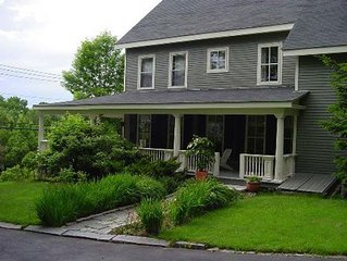Former Sea Captains' 1850s Greek Revival home minutes to town and boat launch