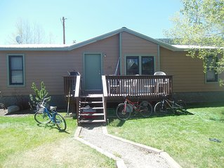 Quiet cozy home close to downtown Crested Butte
