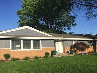 Newly Updated Family Friendly Home Walking Distance to Notre Dame Campus