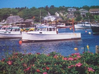 Downeast Maine  Fishing Village Of Corea Cape Style Home