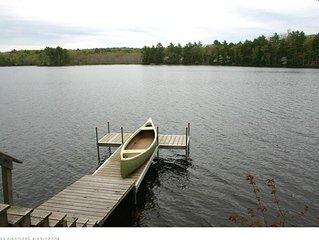 Midcoast Maine Cottage On The Water's Edge