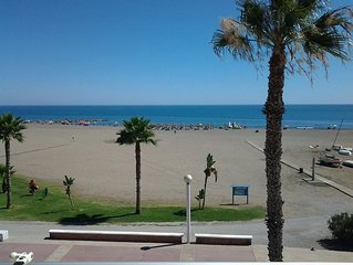 Very Nice Place In The Beachfront Overlooking The Sea in Cala del Moral, Malaga
