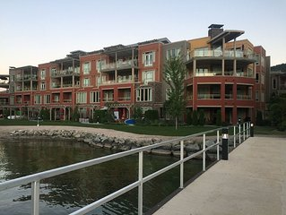 Lake front Condo complex, 104 units total partial lakefront view