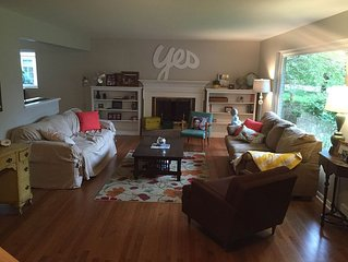 Family Friendly Home In Historic Neighborhood.
