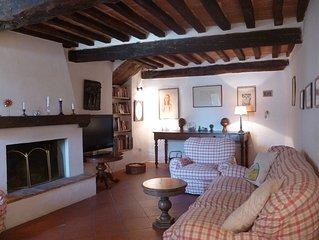 Appartamento in tipico borgo toscano non ancora toccato dal turismo di massa